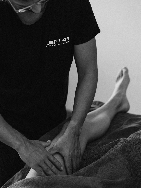 Physiotherapie, Behandlung des Knies