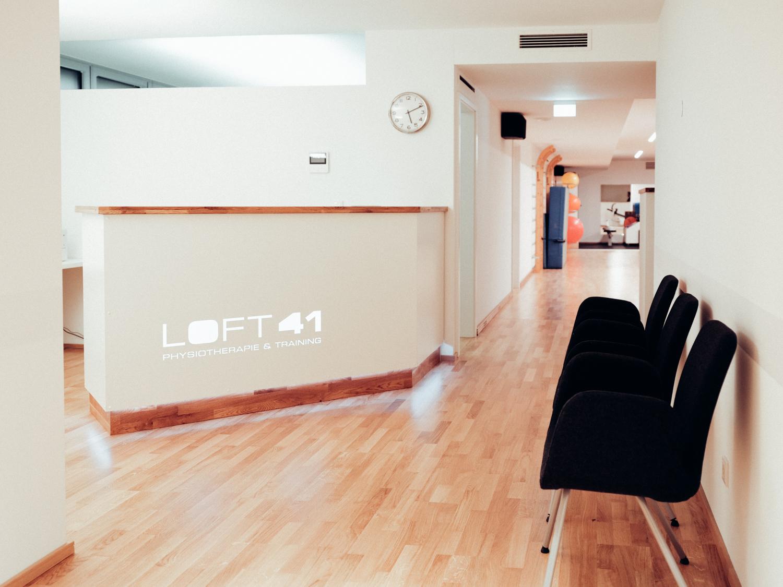 Eingangsbereich vom Loft41