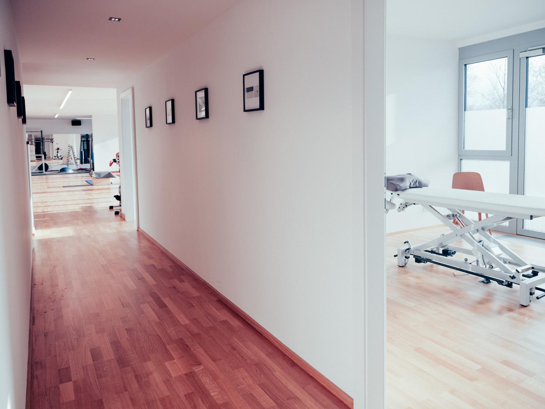 Räumlichkeiten mit Therapiezimmer und Trainingsraum von Loft41