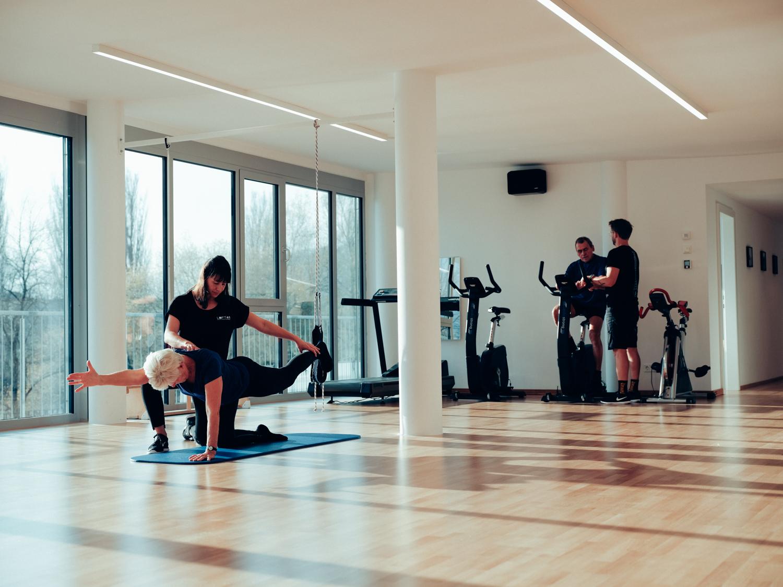 Physiotherapie im Trainingsraum vom Loft41